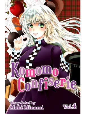 cover image of Komomo Confiserie, Volume 4