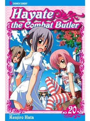 cover image of Hayate the Combat Butler, Volume 20