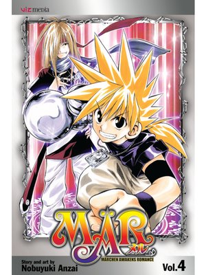 cover image of MÄR, Volume 4