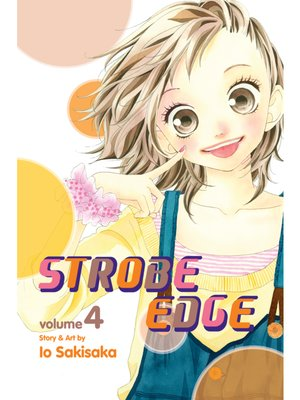 cover image of Strobe Edge, Volume 4