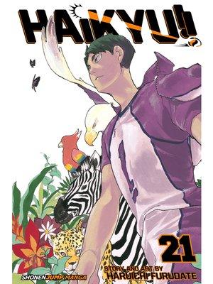 cover image of Haikyu!!, Volume 21