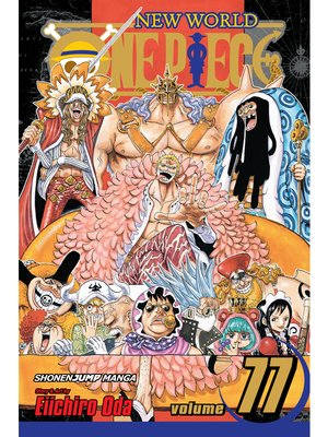 cover image of One Piece, Volume 77