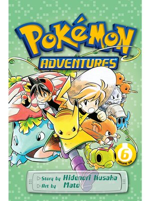 cover image of Pokémon Adventures, Volume 6
