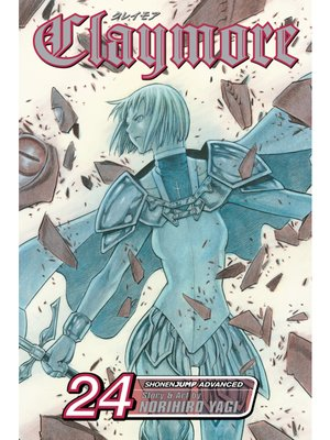 cover image of Claymore, Volume 24