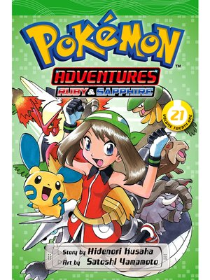 cover image of Pokémon Adventures, Volume 21