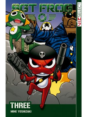 cover image of Sgt. Frog, Volume 3