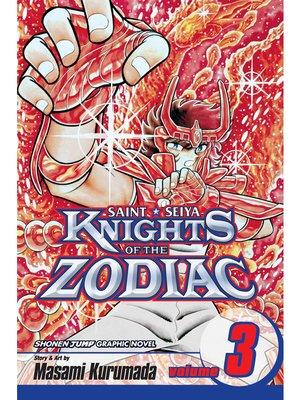 cover image of Knights of the Zodiac (Saint Seiya), Volume 3