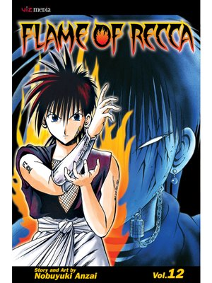cover image of Flame of Recca, Volume 12