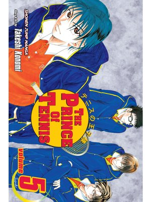 cover image of The Prince of Tennis, Volume 5