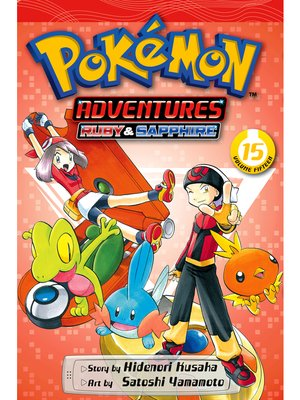 cover image of Pokémon Adventures, Volume 15