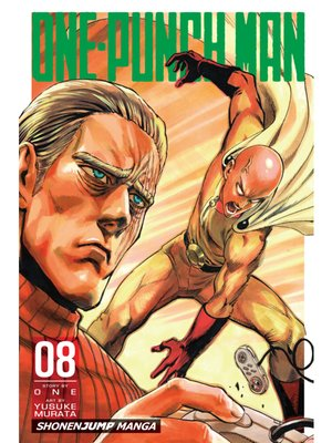 cover image of One-Punch Man, Volume 8