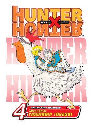 cover image of Hunter x Hunter, Volume 4