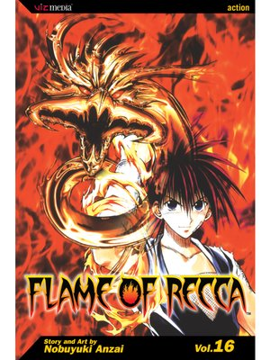 cover image of Flame of Recca, Volume 16