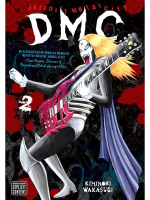 cover image of Detroit Metal City, Volume 2