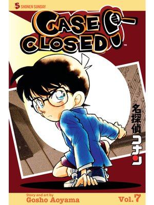 cover image of Case Closed, Volume 7