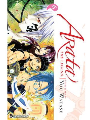 cover image of Arata: The Legend, Volume 6