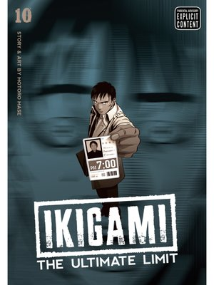 cover image of Ikigami: The Ultimate Limit, Volume 10