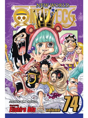 cover image of One Piece, Volume 74