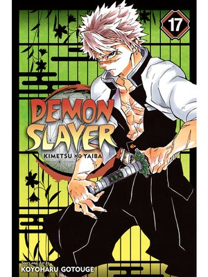 cover image of Demon Slayer: Kimetsu no Yaiba, Volume 17