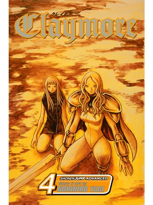 cover image of Claymore, Volume 4