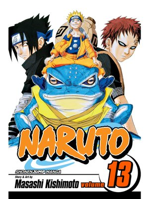 cover image of Naruto, Volume 13