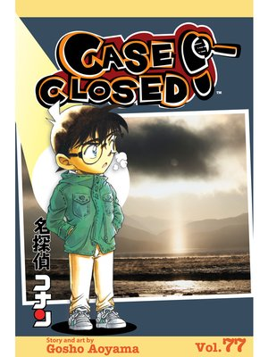 cover image of Case Closed, Volume 77