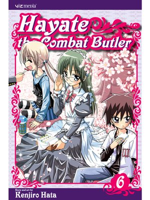 cover image of Hayate the Combat Butler, Volume 6