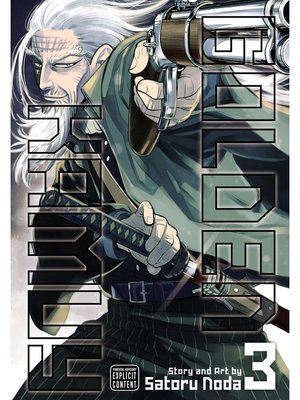 cover image of Golden Kamuy, Volume 3