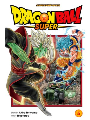 cover image of Dragon Ball Super, Volume 5