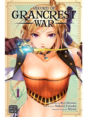 cover image of Record of Grancrest War, Volume 1