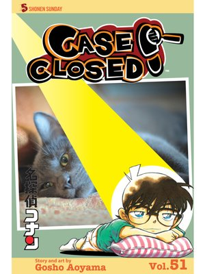 cover image of Case Closed, Volume 51