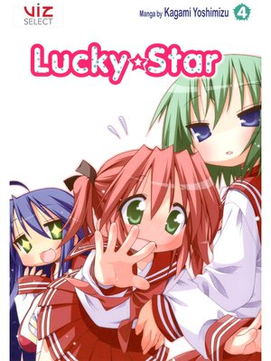 cover image of Lucky★Star, Volume 4