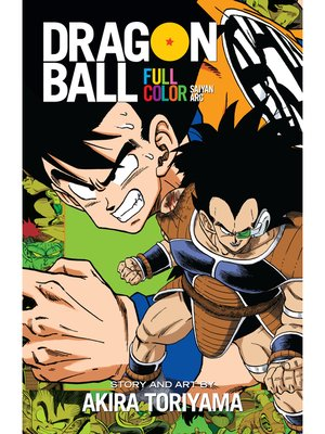 cover image of Dragon Ball: Full Color Saiyan Arc, Volume 1