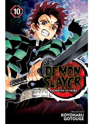 cover image of Demon Slayer: Kimetsu no Yaiba, Volume 10