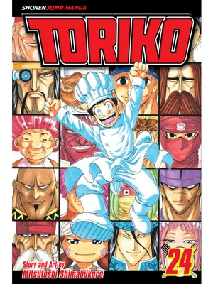 cover image of Toriko, Volume 24