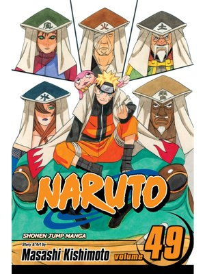 cover image of Naruto, Volume 49