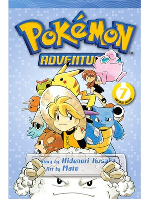 cover image of Pokémon Adventures, Volume 7