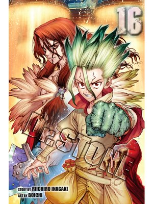 cover image of Dr. STONE, Volume 16