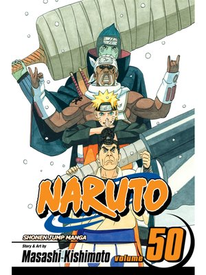 cover image of Naruto, Volume 50