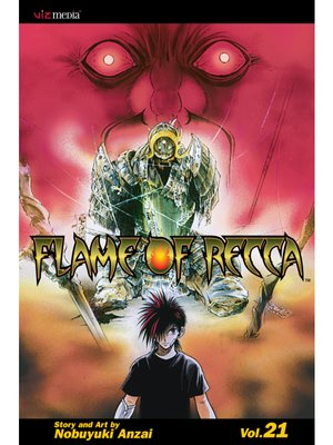 cover image of Flame of Recca, Volume 21