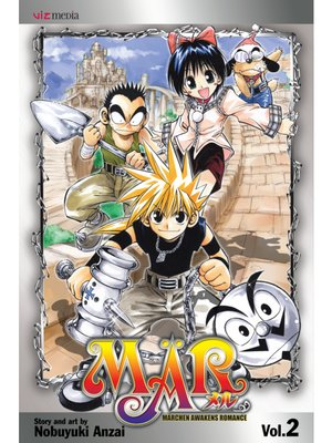 cover image of MÄR, Volume 2