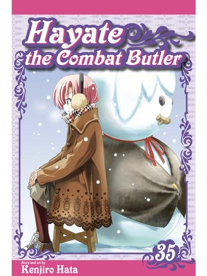 cover image of Hayate the Combat Butler, Volume 35