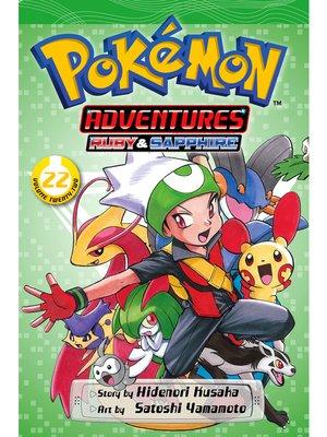 cover image of Pokémon Adventures, Volume 22