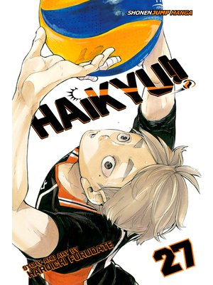 cover image of Haikyu!!, Volume 27