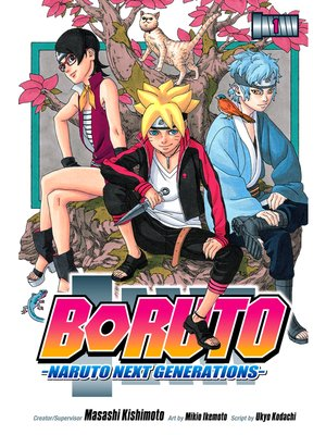 cover image of Boruto: Naruto Next Generations, Volume 1