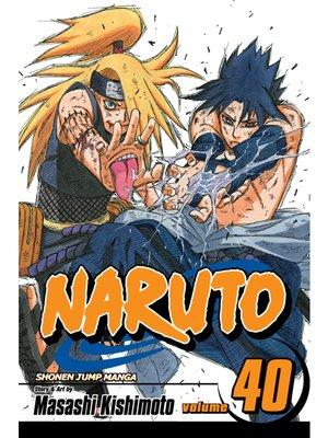 cover image of Naruto, Volume 40