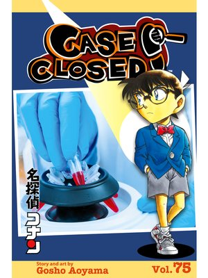 cover image of Case Closed, Volume 75