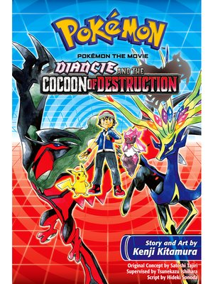 cover image of Diancie and the Cocoon of Destruction