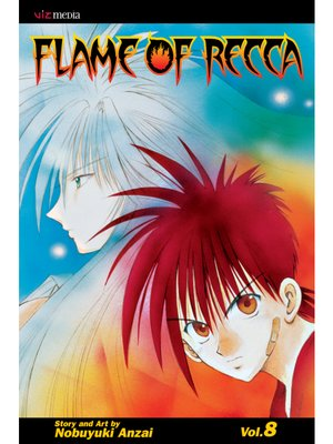 cover image of Flame of Recca, Volume 8