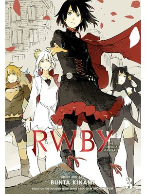 cover image of RWBY: The Official Manga, Volume 3
